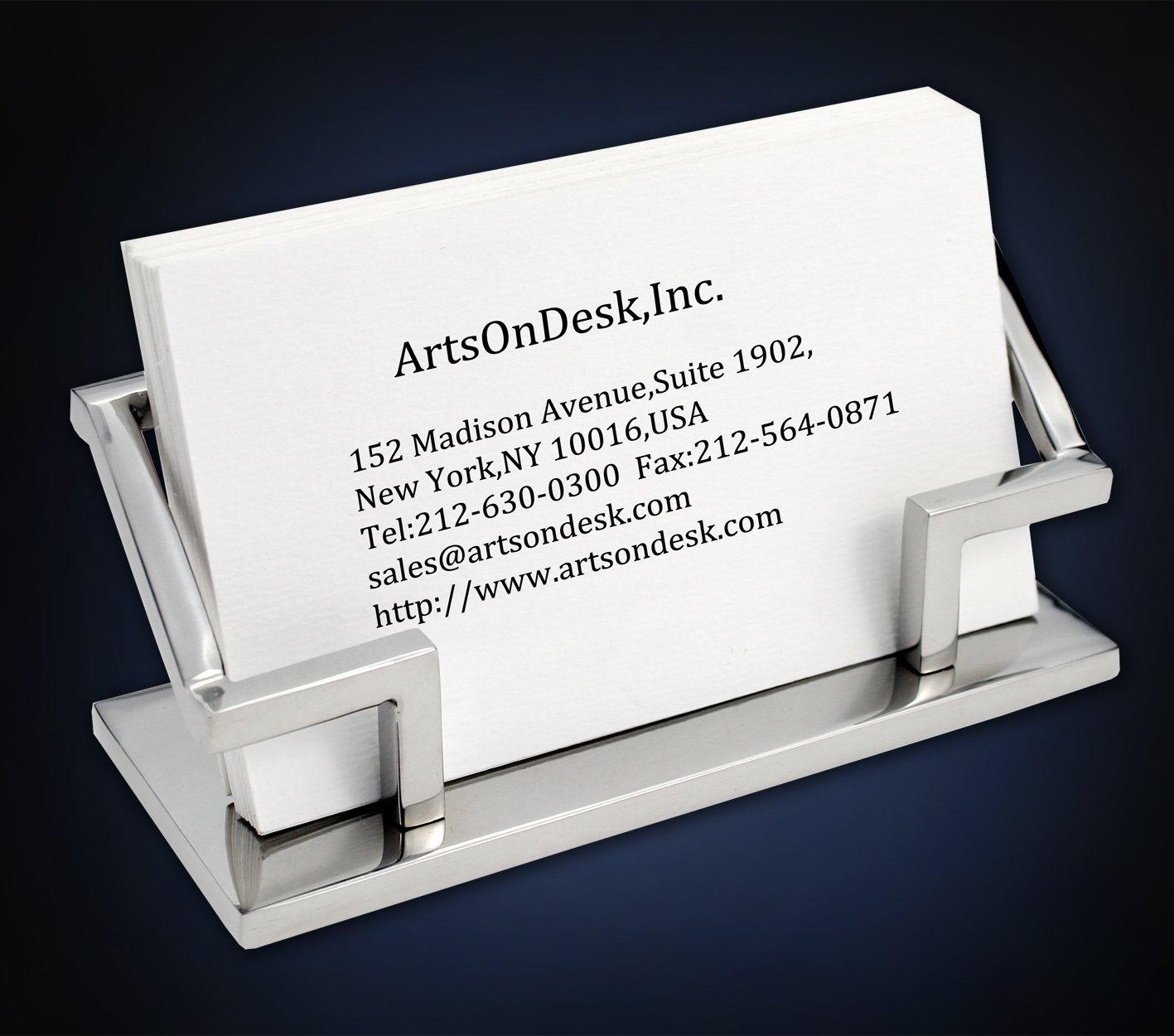 Artsondesk card holder business card holderpatent registered colourmoves